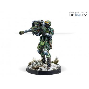 Infinity - Ariadna - TankHunters (Autocannon)