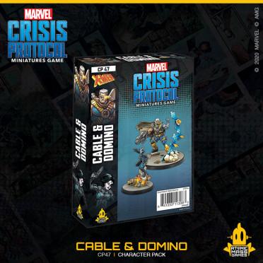 Marvel Crisis Protocol - Cable & Domino