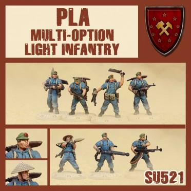 Dust - PLA Light Infantry Multi-Option Box