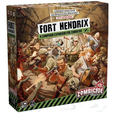 Zombicide 2nd edition - Fort Hendrix