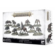 Age of Sigmar : Soulblight Gravelords- Dire Wolves