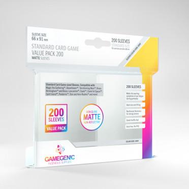 Standard Card Game Value Pack 200 sleeves