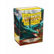100 Dragon Shield Clasic Mint