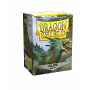 100 Dragon Shield Matte Olive