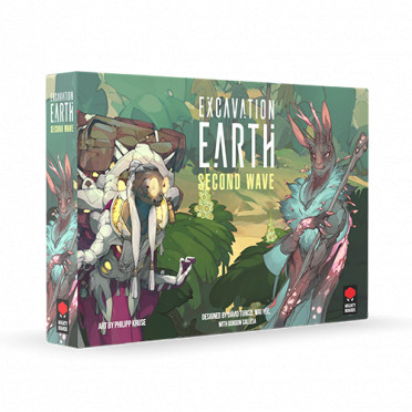 Excavation Earth : Second Wave Expansion