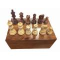Pièces d'échecs 76mm Sheesham Luxe 1