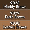 Reaper Master Series Paints Triads: Warm Deep Browns 0