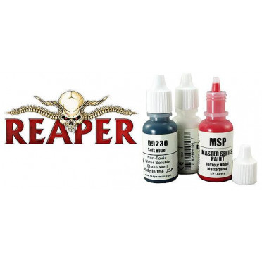 Reaper Master Series Paints Triads: Gold-toned Metal