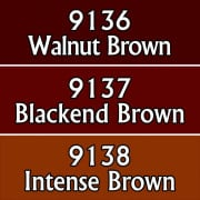 Reaper Master Series Paints Triads: Classic Browns