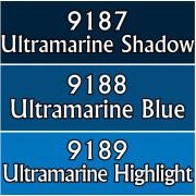 Reaper Master Series Paints Triads: Ultramarine Blues