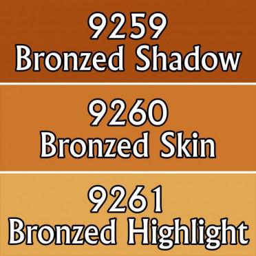 Reaper Master Series Paints Triads: Bronzed Skin Triad