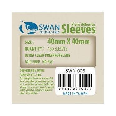 Swan Panasia - Card Sleeves Standard - 40x40mm - 160p