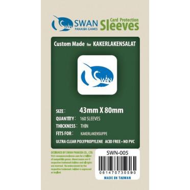 Swan Panasia - Card Sleeves Standard - 43x80mm - 160p