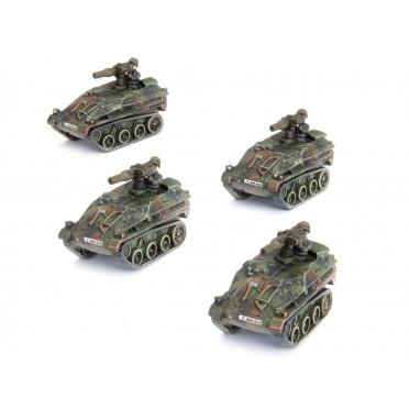 Team Yankee - Wiesel TOW Panzerabwehr Zug