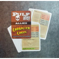 Pulp Alley: Character Cards - Allies 0