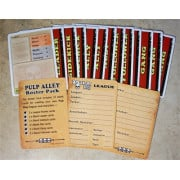 Pulp Alley: Character Cards - Followers