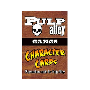 Pulp Alley: Character Cards - Sidekicks