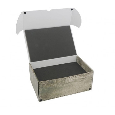 Combi Box with 100mm Deep Raster Foam Tray and Foam Tray for 36 Infantry Minis