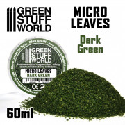 Micro Feuilles - Mélange Vert Foncé