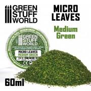 Micro Feuilles - Mélange Vert Moyen