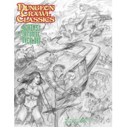 Dungeon Crawl Classics 87 - Against the Atomic Overlord Sketch Cover