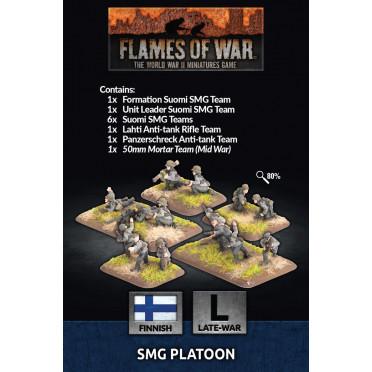 Flames of War - Finnish SMG Platoon