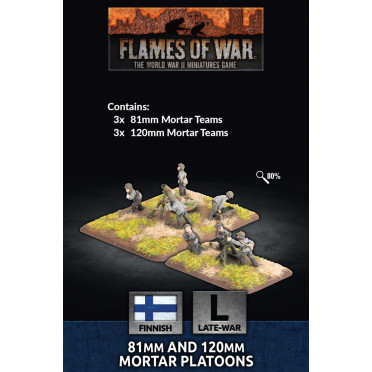 Flames of War - 81mm and 120mm Mortar Platoon