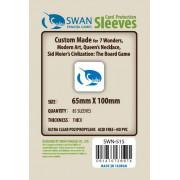 Swan Panasia - Card Sleeves Premium - 65x100mm - 100p