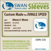Swan Panasia - Card Sleeves Premium - 80x80mm - 100p