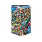 Puzzle Triangulaire - Rita Berman - Go Camping - 2000 pièces