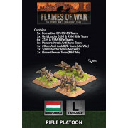 Flames of War - Rifle Platoon