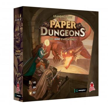 Paper Dungeons - Le Jeu