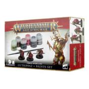 Age of Sigmar : Paint Set - Orruk Warclans Gutrippaz