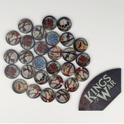 Kings of War - Game Token Set and Arc Template