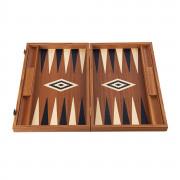 Backgammon 38cm Acajou