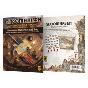 Gloomhaven - Jaws of the Lion : Removable Sticker Set & Map