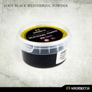 Soot Black Weathering Powder