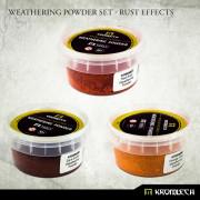 Weathering Powder Set - Rust Effects