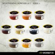 Weathering Powder Set - Serie 1