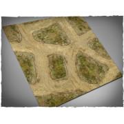 Terrain Mat Mousepad - Cobblestone Streets V2 - 90x90