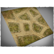Terrain Mat Mousepad - Cobblestone Streets V2- 120x120