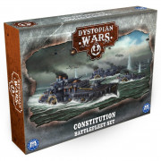 Dystopian Wars: Constitution Battlefleet Set