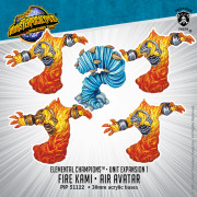 Monsterpocalypse - Protectors - Fire Kami & Air Avatar