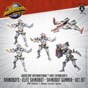Monsterpocalypse - Destroyers - Shinobots, Shinobot Gunner, & UCI Jet