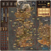 A Game of Thrones - The Boardgame - Mother of Dragons Deluxe Gamemat