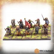Fantasy Heroes - Halfling Goat Rider Warriors