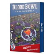 Blood Bowl : Dark Elf - Pitch & Dugouts