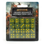 Age of Sigmar : Grand Alliance Destruction - Dice Set
