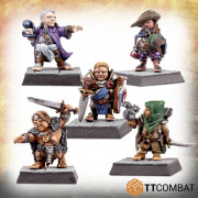 Fantasy Heroes - Traditional Halfling Adventurers