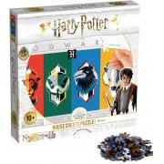Puzzle 500 pièces Harry Potter - Les 4 Maisons
